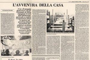 Pubblicazioni rinascita 1985 fendi karl lagerfeld for Progetto domestico