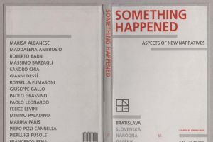 Something happened. Aspects of New narratives -