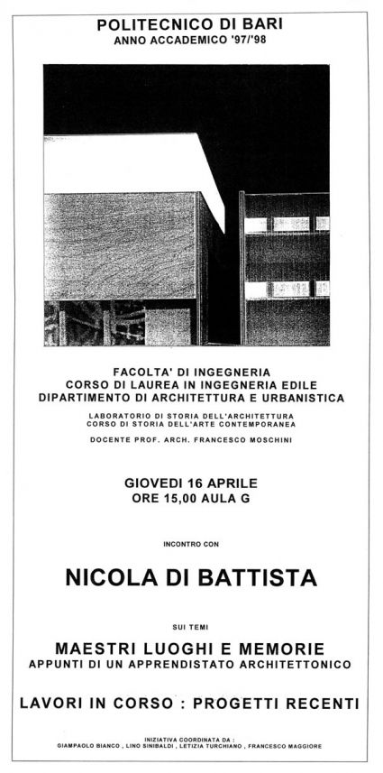 Francesco Moschini: incontro con Nicola Di Battista -