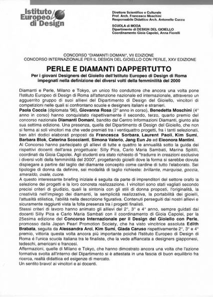 Perle e diamanti dappertutto -