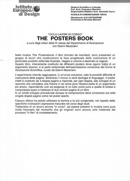 The posters book -