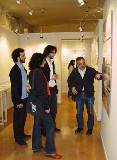 Mostre immagini dell 39 inaugurazione di domenico rinaldi for Carlo scarpa biografia