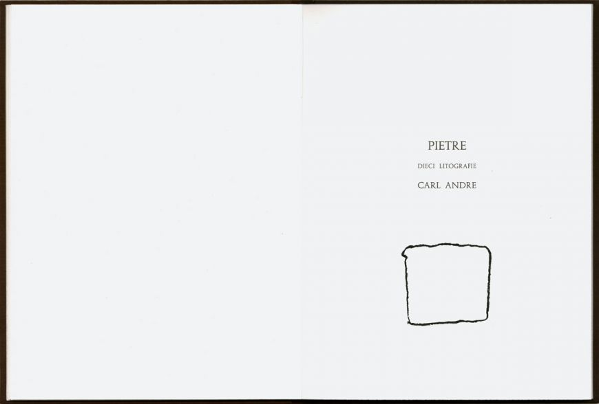 Carl Andre -