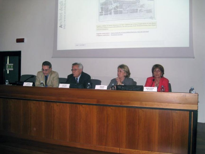 Conferenze il portale degli archivi degli architetti prospettive e sviluppi archivio - Portale architetti roma ...