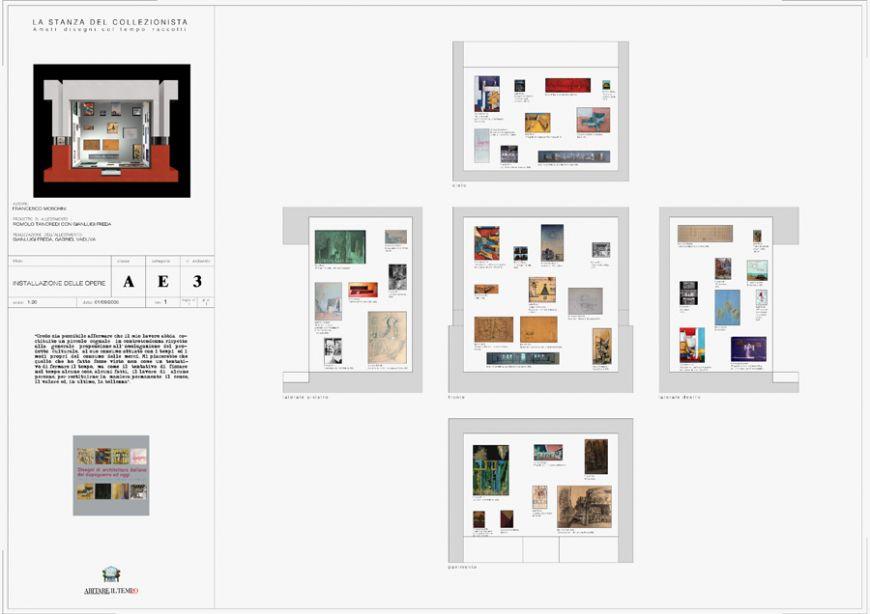 Mostre la stanza del collezionista amati disegni col for Disegni della stanza del fango